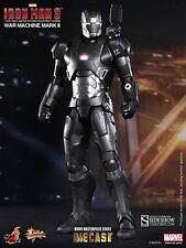 Hot Toys 1/6 Iron Man 3 Diecast Series WAR MACHINE Mark II MMS198D03