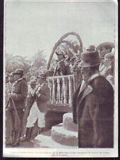 1908  --  LE GENERAL SIMON  NOUVEAU PRESIDENT D HAITI  Z904