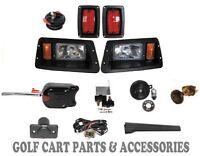 Yamaha G14-22 Golf Cart Headlight & Tail Light Kit Deluxe Street Package