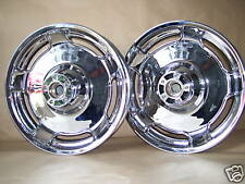 Harley Davidson Streetglide Street Glide FLHX Chrome wheels EXCHANGE