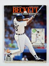 Beckett BASEBALL CARD MONTHLY #81 December 1991 Fielder/Mays/McCovey/Ventura