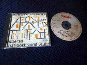 CD Manfred Siebald + Freunde Überall Hat Gott Seine Leute Christlche Lieder 1983