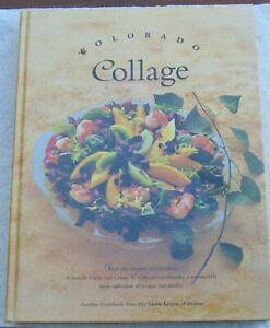 Colorado Collage Cookbook Junior League of Denver CO laminated hardcover