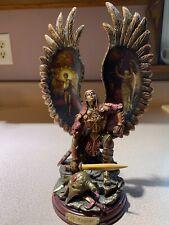 Bradford Exchange Bronze Sculpture Collection: Archangels of Light. St. Raguel