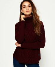 Superdry Womens Cable Cape Jumper