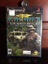 SO COM 3: U.S. Navy Seals (Sony PlayStation 2, PS2) BRAND NEW/SEALED