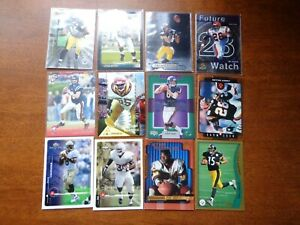 Lot of 12, All Are Star Football Rookie Card RC Luck BVG 9.5 Manning Ward Dillon