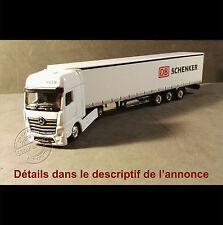Camion Miniature DB SCHENKER Tautliner 1/87 HO