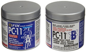PC-Products PC-11 Epoxy Adhesive Paste, Two-Part Marine Grade, 1/2lb in Two Off