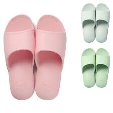 Women Daily Slippers Breathable Soft Home Shoes Bathroom Bedroom Flat Slippers