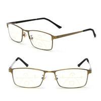 Light Blocking Progressive Multifocal Reading Glasses Presbyopia Eyeglasses