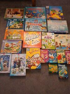 Spiele 14 Stck. und 6 Puzzle Spielepaket