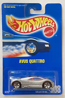 1993 Hotwheels Audi Avus Quattro 208 Silver Variant! Mint! Very Rare! MOC!
