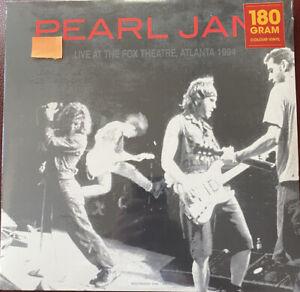 Rare -Pearl Jam-Live@The Fox Theatre Atlanta 1994-180 Gram - Import-Sealed $.01