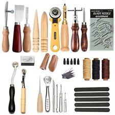 Leather Leathercraft Craft Tool 25 Pcs Professional Sewing Kit DIY Hand Tools
