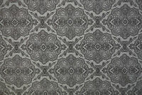 "BLACK PAISLEY PRINT ON WHITE STRETCH COTTON ELASTANE TWILL FABRIC 57"" WIDTH"