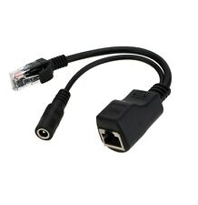 1PCS Passive Power Over Ethernet PoE injector Cable Adapter NEW CK