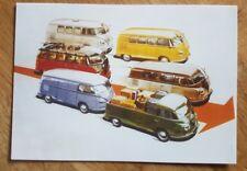 Volkswagen VW Camper Van Minibus Pickup Postcard No163 Vintage Ad Gallery VW09pc