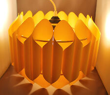 70er Jahre Space Age Lampe 70s Hanging Light Lamp Klint UFO Style Lamellenlampe
