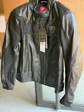 GIUBBINO in pelle con protezioni Ducati Company C2 by Dainese 9810321_