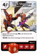 072 WEB SHOOTERS A Spider's best... - THE AMAZING SPIDER-MAN Marvel Dice Masters