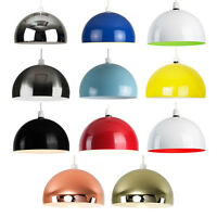 Large Modern Metal Retro Style Ceiling Pendant Light Shade Lampshades Shades NEW
