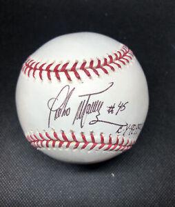 Pedro Martinez Signed Autographed Ball. Inscribed. JSA