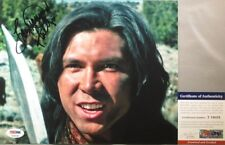 RARE SHOT!! Lou Diamond Phillips Signed YOUNG GUNS 8x10 Photo PSA/DNA