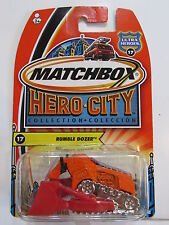 MATCHBOX HERO-CITY - ULTRA HEROES #17 RUMBLE DOZER