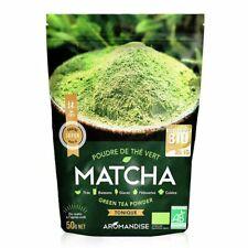 Aromandise - Thé Vert Matcha bio en poudre 50g