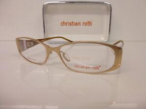 Original Titan-Kunststoffbrille Women's Glasses Christian Roth, Cr 14045 Be 53