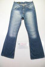 Lee Bootcut (Cod. F1707)Tg46 W32 L34 jeans usato Vita Alta vintage donna Zampa