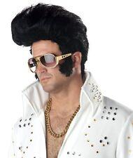 Rock N' Roll Elvis Presley King Halloween Costume Wig