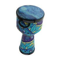 8inch Djembe Bongo African Hand Drum Musical Percussion Instrument Toy Gift