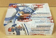 2000 FLEER GAMERS FOOTBALL HOBBY BOX (FACTORY SEALED, BRAND NEW)