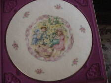 1985 Royal Doulton Valentine's Day Collector Plate in original Box