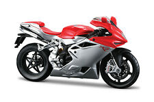 Mv Agusta F4 Red-Silver Scale 1:12 Motorcycle Model of Maisto