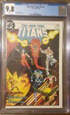 The New Teen Titans 1 CGC 9.8 Vol 2 DC 1984 Marv Wolfman George Perez