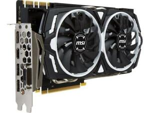 MSI GeForce GTX 1080 ARMOR 8G OC 256-Bit GDDR5X SLI Support Gaming Video Card