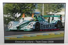 PHOTO cm13x18 SIGNED by Emmanuel Collard PORSCHE RS SPYDER #31 LMP2 LE MANS 2009