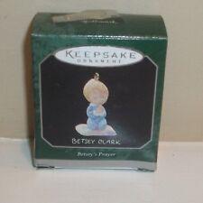 Hallmark Keepsake Betsey Clark Betsey'S Prayer Miniature Angel Ornament 1998