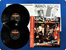 HANOI ROCKS - ALL THOSE WASTED YEARS 2-LP (JAPAN SLEVE GATEFOLD EDITION)