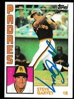 1984 Topps Steve Garvey Autographed Card - San Diego Padres TTM - #380