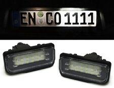 LED Kennzeichenbeleuchtung weiß 6000K für Mercedes C219 R171 W211 W203