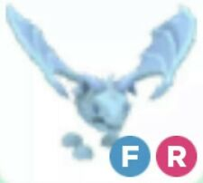 Frost Dragon Fly Ride FULL GROWN Adopt Me Pet - Frost FR Full Grow