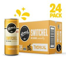 Remedy Apple Cider Vinegar Switchel - Tropical 24 x 250ml