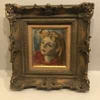 Robert Philipp Original Portrait Of A Woman Untouched All Original Estate Fresh