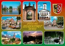 73234238 BLESSED CITY _ Hesse town hall Benedictine Abbey fachwerkhaeuser abendsti