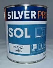 Peinture SOL Silver Pro 2,5 L (Blanc satin)