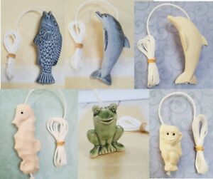 Ceramic Light Pull with Cord Bathroom Blinds Curtains Decoration Nautical